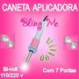 Caneta Aplicadora Strass / Cristal Hotfix Blingme + Brinde
