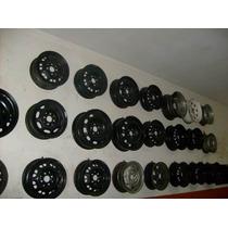 Rodas De Ferro P/ Estepe Ou Jogo 50,00 Cada Aro13,14,15