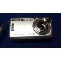 C6 - Ciber Shot 6.0 Sony Máquina Fotográfica R$ 110,00