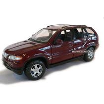 Miniatura De Carro Em Metal Bmw X5 - Escala - 1:24