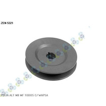 Polia Rígida Para Alternador Motor Marítimo Om314 Om326- Zen