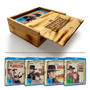 Western Collection (gift Set) Caixa De Madeira Com 4 Filmes