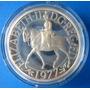 Inglaterra-grande Medalha Prata 1977-rainha Elizabeth Ii
