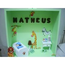 Porta Maternidade Quarto Miniatura Safari