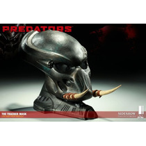 Predators The Tracker Mask Life Size - Sideshow - Predador