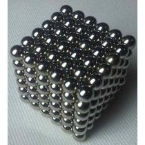 Neocube Preto 216 Imãs Cubo Magnetico 3mm + Lata