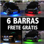 Frete Grátis: 6 Barras Neon Led Externo/interno Tepete Xenon