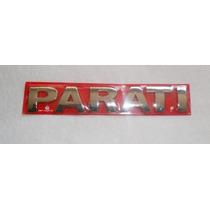 Emblema Parati Cromado Geraçãoiii Mmf Auto Parts