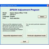 Reset Epson T1100 E T1110 - São Diversos Modelos Para Epson