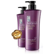 Kerasys Kit Shampoo E Condicionador Salon Care Alisamento
