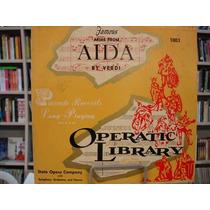 Lp 33 Rpm - Operatic Library - Aida
