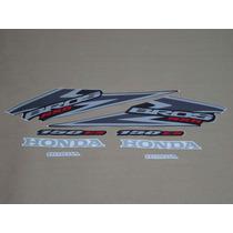 Kit Adesivos Honda Nxr150 Es Bros 2006 Preta - Decalx