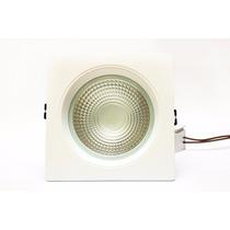 Luminária De Embutir Led Cob 15w Branco Frio / Branco Quente