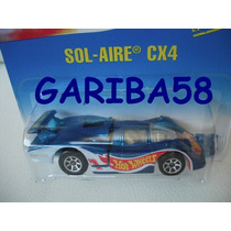 Hot Wheels 1995 #254 Sol-aire Cx4 Race Team Deco Gariba58