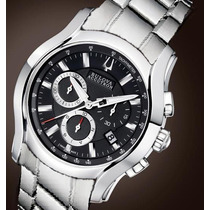 Bulova Accutron Stratford Executive Class Gmt De $3.990 Por