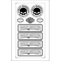 Adesivos Harley Davidson Refletiva + Frete Grátis
