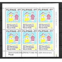 Filipinas- Bloco 1988- 50 Anos Do Ccf- Mint