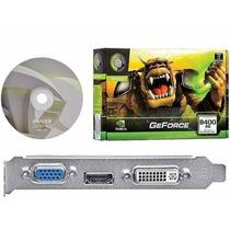 Placa De Video Geforce Nvidia 8400 Gs 1gb Ddr2 64 Bits - Vga