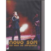 Novo Som - Ao Vivo No Imperator - Dvd - Raridade - Gospel