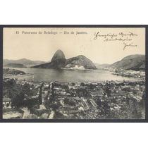 Postal Antigo, 15 Panorama De Botafogo, Rio De Janeiro