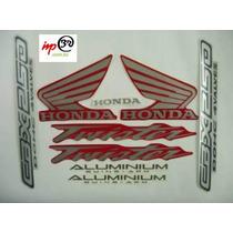 Adesivo Twister Cbx250 2004 Vermelho - Faixa Original