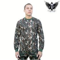 Camisa Manga Longa Camuflada Exército Brasileiro