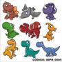 Adesivo Imp5 Infantil Kit Pokemon Dragao Morcego Dinossauro
