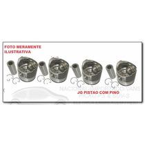 Jg Pistao Motor 1,00 Volks Voyage 1.6 Apos 87 Motor Ap Gasol
