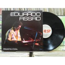 Eduardo Assad Piano Orquestra Coral - Lp Csp Records 1989