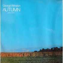 George Winston Lp Autumn Piano Solos - 1987