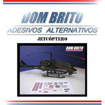 Adesivos Para Jetcóptero De Combate Comandos Em Ação