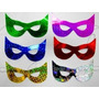 Kit 120 Mascara Carnaval Casamento Formatura Aniversario