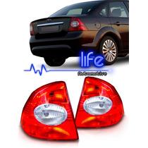 Lanterna Focus Sedan 2009 2010 2011 2012 09 10 11 12 Bicolor