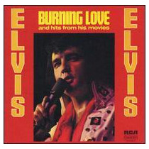Elvis Presley Burning Love And Hits From His Cd Novo Import