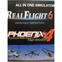 Simulador Phoenix 4 All In One Align Trex Simulator Real