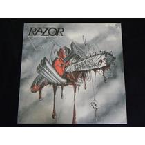 Razor Violent Restitution Lp Metallica Slayer Megadeth Sodom