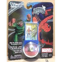 Tk0 Toy Marvel Ring Flick Comic Con Spider Man Homem Aranha
