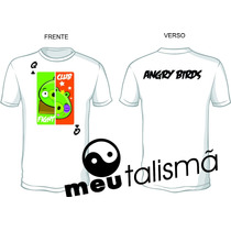 Camiseta Infantil Angry Birds