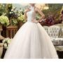 Vestido De Noiva Pronta Entrega Com Detalhes Em Pedras