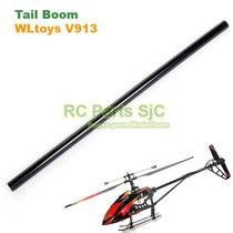 Cauda (tail Boom) Peça De Reposição Helicóptero Wltoys V913