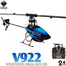 Helicoptero V922 6ch 2.4ghz Voo 3d Pronta Entrega Ñ É V911