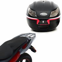 Suporte Bagageiro Scam + Bau Bauleto Proos 26l Honda Cb300r