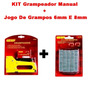 Kit Grampeador Manual + Jogo De Grampos 6mm E 8mm Geant