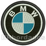 Car035 Bmw 8,5 Cm Patch Bordado Kart Macacão F1 Cross Stock