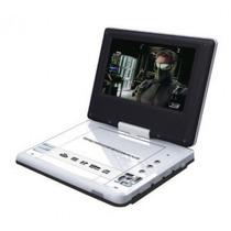 Dvd Portatil 7 Tv 300jogos 2 Joysticks + Bolsa Fixar Encost