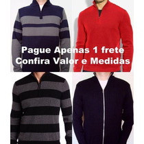 Jaquetas, Casacos E Blusões De Lã C/ Zíper