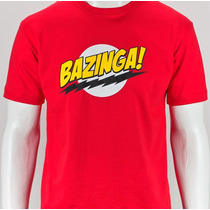 Camisa Bazinga Sheldon The Big Bang Theory