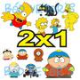Vetores Os Simpsons + South Park + Brinde - Frete Grátis