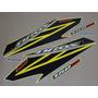 Kit Adesivos Honda Nxr150 Esd Bros 2008 Amarela - Decalx