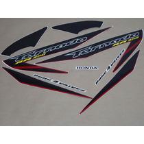 Kit Adesivos Honda Xr 250 Tornado 2007 Vermelha - Decalx